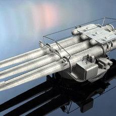 torpedo launcher 3D Model