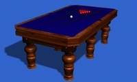 Billiards 3D Model