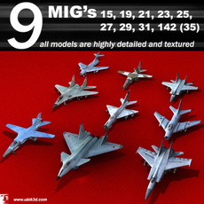 mig's collection 3D Model
