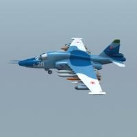 su-39 3D Model