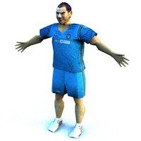 player 3D Model