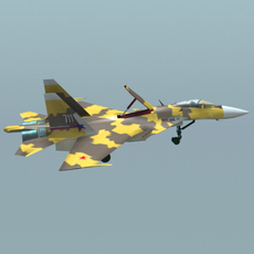 su-37 3D Model