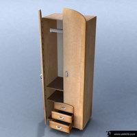 wardrobe_01 3D Model