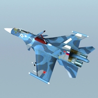 su-33 3D Model