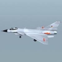 j-10 3D Model