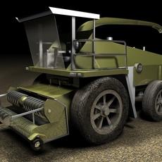 Harvester 3D Model