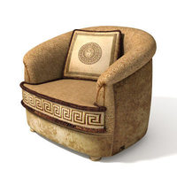 "armchair ""Giove"" 3D Model"