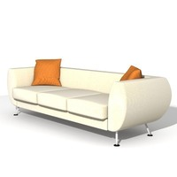 "Sofa ""Leelo"" 3D Model"