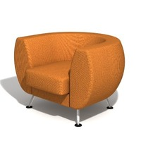"armchair ""Leelo"" 3D Model"