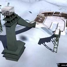GA-PA skijump 3D Model