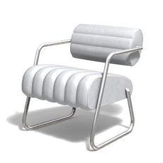 """chair """"Bonaparte"""" 3D Model"""