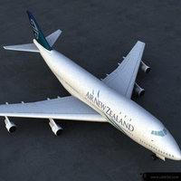 boeing_747 3D Model