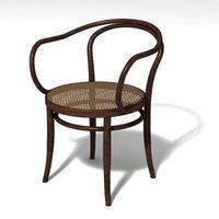 bentwood armchair 3D Model