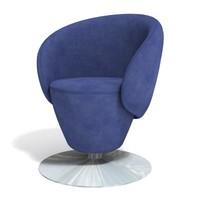 """armchair """"trompet"""" 3D Model"""