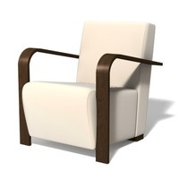 "armchair ""Soho"" 3D Model"