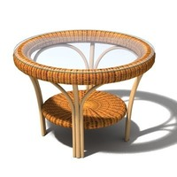 "table ""Corinna"" 3D Model"