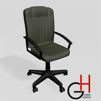 DeskChair 3D Model