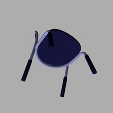Plas2Chair 3D Model