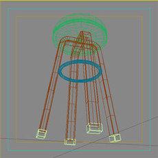 Stool Bar 2 3D Model