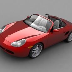 Porsche Boxster 3D Model