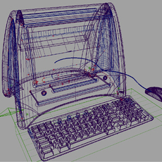 PC - Original integrated design 3D Model