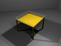 Shoppingtable 3D Model
