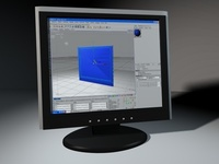 Flatscreen Acer 1703 3D Model