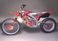 Motorcycle - Dirtbike 3D Model