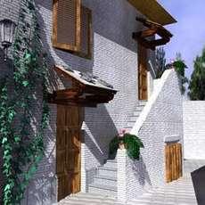 Adagio street view 2005 3D Model