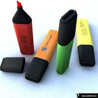 marker fluor 3D Model