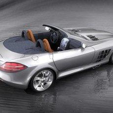 Mercedes SLR Cabrio 3D Model