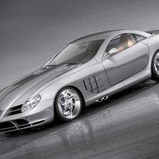 Mercedes SLR Coupe 3D Model