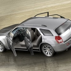 Chrysler 300c Touring 3D Model