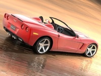 Chevrolet Corvette Convertible 3D Model
