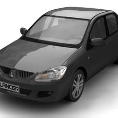 Mitsubishi Lancer 2004 3D Model