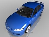 2004 Mazda 6 Sports Sedan 3D Model