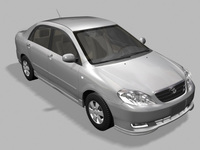 Toyota Corolla 2004 3D Model