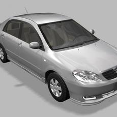 Toyota Corolla 2004 3D Model