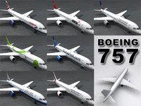 boeing 757-251 3D Model