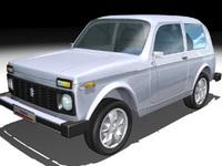 Niva 3D Model