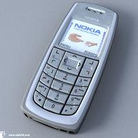 nokia 3120 3D Model