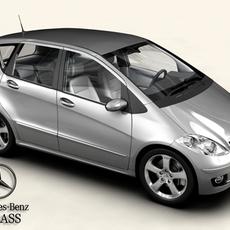 Mercedes A Class 2005 3D Model