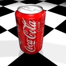 Coca Cola cl 3D Model