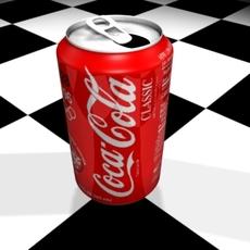 Coca-Cola op 3D Model