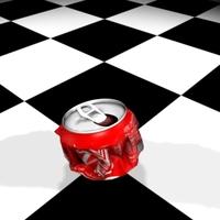 Coca-Cola sm 3D Model