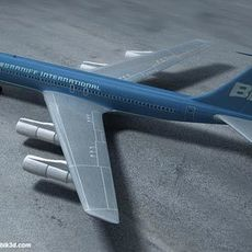 boeing 707 3D Model
