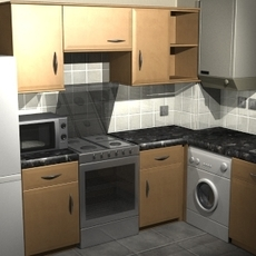 Kitchen Collection 3D Model