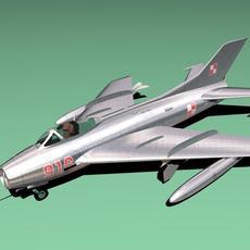 MIG 19 3D Model