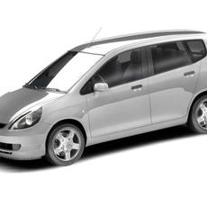 Honda Jazz 2005 3D Model