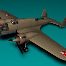 PZL B37B LOS 3D Model